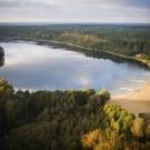 Geovita w Pile-Płotkach - jezioro Płotki