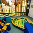 Ośrodek w Dąbkach - pokój zabaw dla dzieci