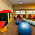 Ośrodek w Dźwirzynie - pokój zabaw dla dzieci
