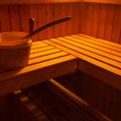 Geovita w Pile-Płotkach - sauna