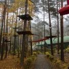Geovita w Pile-Płotkach - park linowy