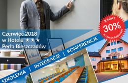 Szkolenia, konferencje, integracje w Perle Bieszczad